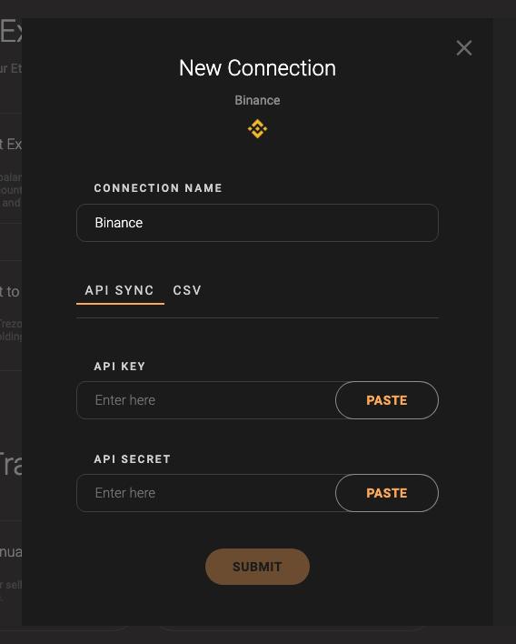 Coinstats - formularz API