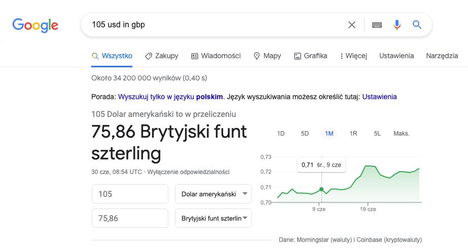 Google - Convert
